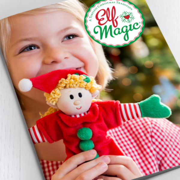 Elf Magic Branding, Ads, Trade Show Graphics, & Email Campaigns