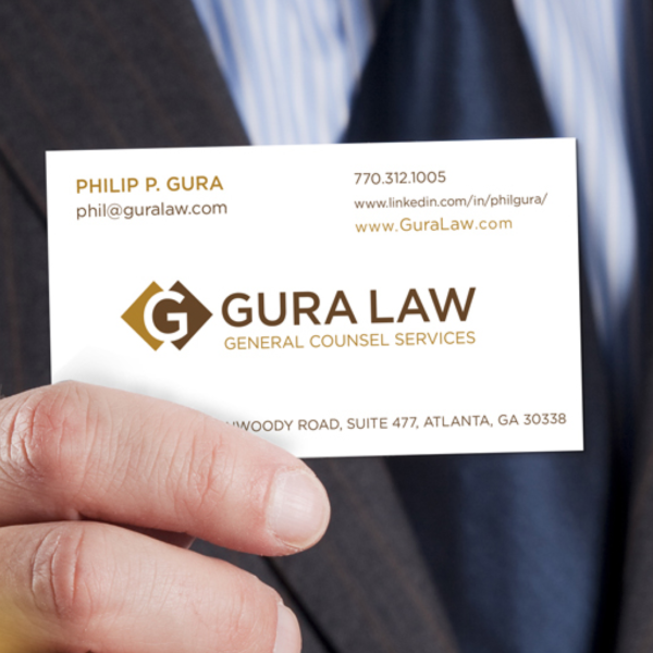 Gura Law: Logo Design, Stationary Design, WordPress Web Design