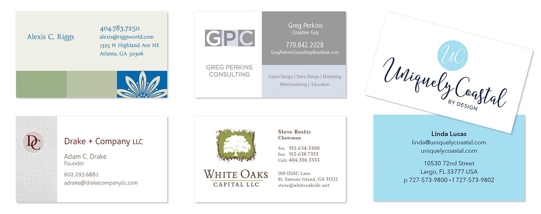 Business Cards Design Seven | Charlotte SC & Atlanta GA